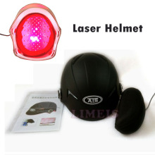 Hair growth laser helmet anti hair loss treatment head massage cap 64 medical diodes fast hair regrow helmet w glasses(China)