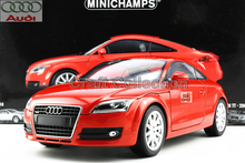 Red 1:18 Car Model Audi TT Hard Top Coupe Sport Car Diecast Model Classic Toys Car Replica Luxury Collections
