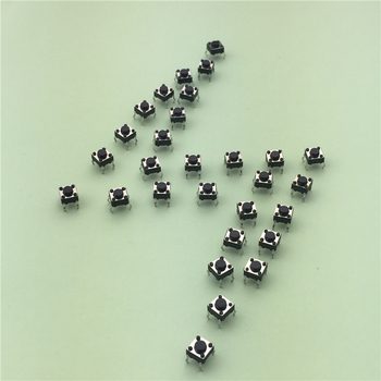 50pcs/lot 6x6x4.3MM 4PIN G89 Tactile Tact Push Button Micro Switch Direct Plug-in