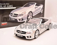 Rare Kyosho 1:18 SLK 63 AMG CARLSSON Alloy Car Model Hot Sell Minicar Gifts 55 CM55K