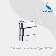 Saipwell SP208 glass shower door hinges pivot zinc alloy door hinges specifications hinges for metal cabinet 10 Pcs in a Pack