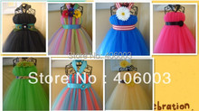 Custom Made Hand Made Baby Tutu Dress for Girl Free Shipping(China)