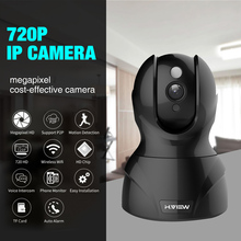 H.View IP Wi-Fi Wireless Camera 720P 1.0MP IP Camera Baby Monitor Two Way Audio Easy iPhone Android Remote Access(China)