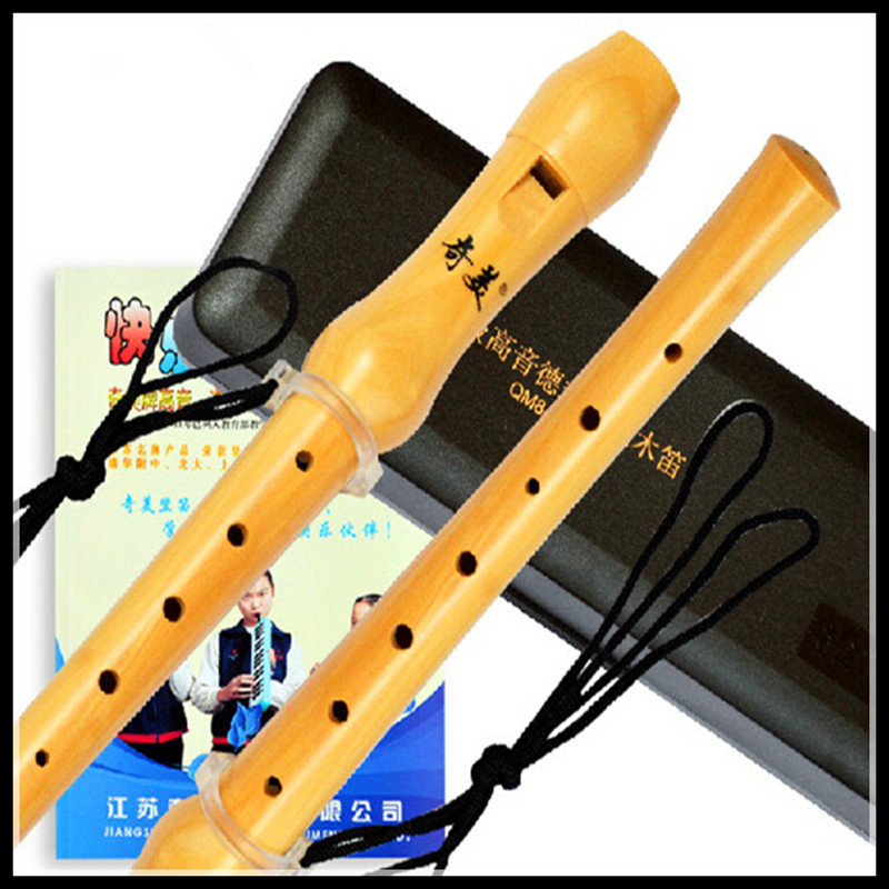 Wooden Flute High-pitched German-style 8 hole Clarinet Flute C Key Chinese Vertical Flute Wood Musical Instruments Wooden Flute<br><br>Aliexpress