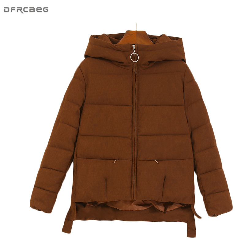 Fashion Harajuku Style Winter Coat Women Thick Warm Short Chaquetas Mujer Hoodies Parkas Down Cotton Jacket Zipper Manteau FemmeÎäåæäà è àêñåññóàðû<br><br>