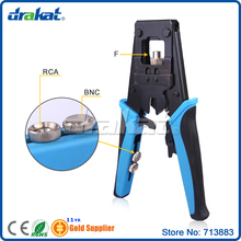 Multi BNC Crimp Tool with Interchangeable Connector for F/ RCA(China)