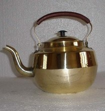 free shipping Bronze statue copper brass pot extra large thickening type houselinen(China)