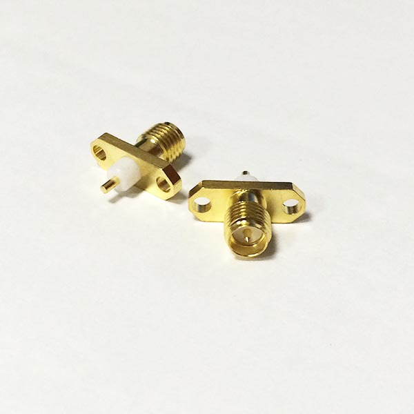 1pc NEW  RP-SMA Female Jack RPSMA RF Coax Connector panel mount  solder post Straight Insulator Long 3mm Goldplated  wholesale<br><br>Aliexpress