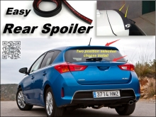 Root / Rear Spoiler For TOYOTA Auris Corolla Trunk Splitter / Ducatail Deflector For TopGear Fans Easy Tuning / Free Modeling