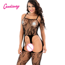 Buy candiway women sexy Outfit Costumes net  open crotch fantasias robe sexy club erotique babydoll lingerie sexy