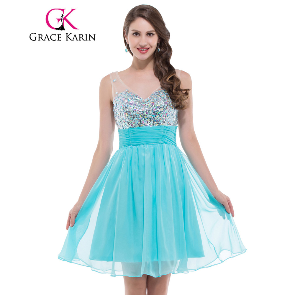 Online Get Cheap White Elegant Short Prom Dresses -Aliexpress.com ...
