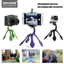 Ekosa Tripod For Phone Gekkopod Monopod TRIPODE Mobile Gorillapod lightweight Flexible Phone Octopus Ahtapot Tripod Camera Stand
