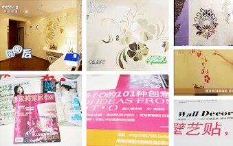 Regular Hexagon Honeycomb Decorative 3D Acrylic Mirror Wall Stickers Living Room Bedroom Poster Home Decor Room Decoration R229