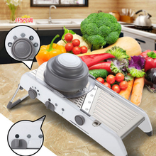 Mandoline Slicer Professional Grater Manual Fruit Vegetable Chooper Cutter Potato Carrot Onion Slicer Kitchen Tool Accessories(China)