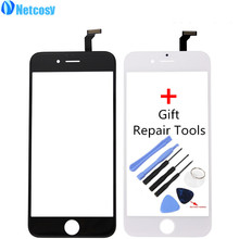 Netcosy Touch Screen Digitizer Front Touch Panel Display Glass Lens TouchScreen for iPhone 6 6G & Tools Mobile Phone Accessories(China)