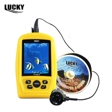 Lucky Brand Portable Underwater Sea Fishing Inspection Camera 20m Cable Fish Finder 3.5inch Colorful RGB Waterproof Monitor(China)