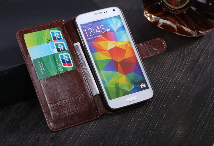 Ultra Thin Flip Magnetic Leather Case Stand Wallet Style Card Slot Phone Back Cover