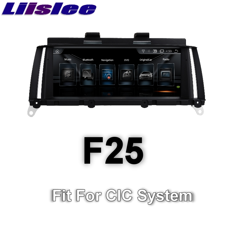 For BMW X3 F25 2011~2013 LiisLee Car Multimedia GPS Audio Hi-Fi Radio Stereo Original Style For CIC Navigation NAVI 2