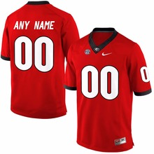 Nike Jerseys Men's Georgia Bulldogs Can Customized Any Name Any Logo College Limited Ice Hockey Jerseys(China)