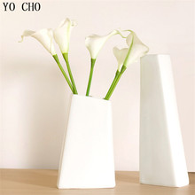 (30 pcs/lot) Real touch calla lily Wedding Bouquet Bridal Party Home Decoration White artificial calla lily calla lily bouquet(China)