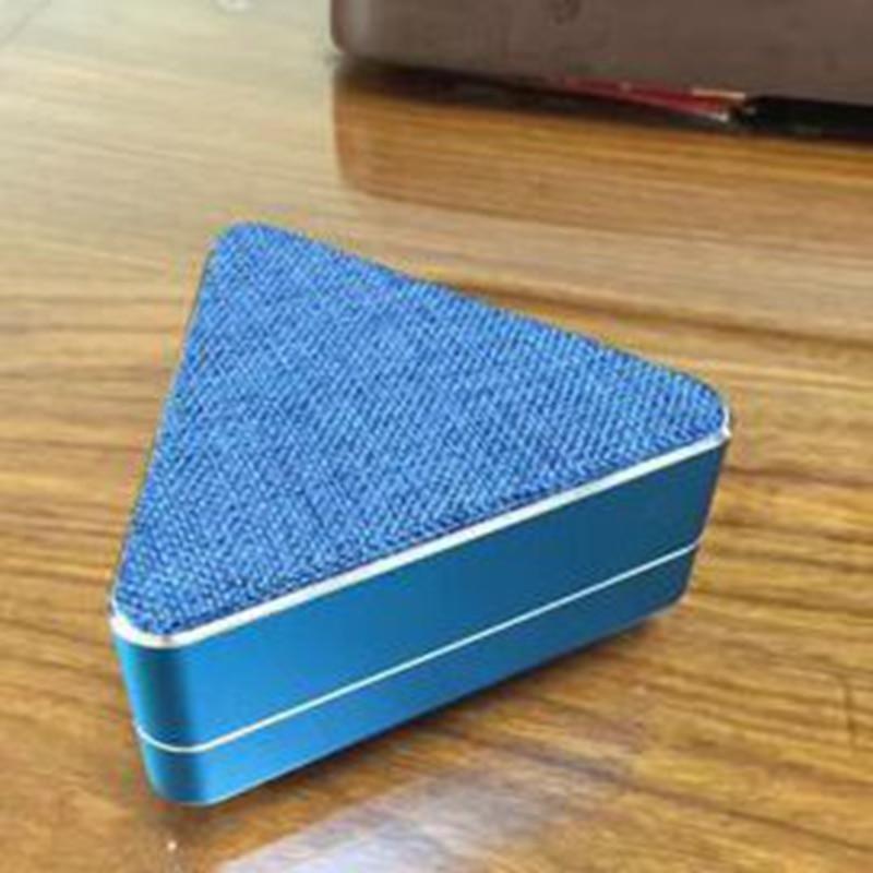 ITSYH Wireless Bluetooth Speaker Triangle Mini Speakers M201 Metal+Fabric art Wireless Bluetooth speaker Outdoor Music  LF01-085
