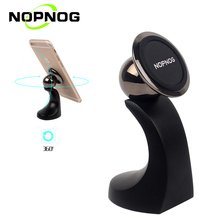 NOPNOG New Mount Holder Mobile Phone Stand for IPhone Samsung Smartphone Support GPS 360 Degrees Rotation Magnetic Phone Holder(China)