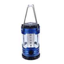 Lantern Outdoor Camping Adjustable 12 LEDs Light Hiking Camping Lantern Tent Lamp with Compas High Quality