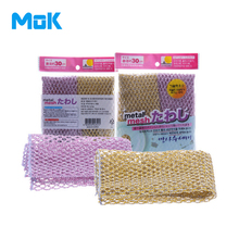10 pieces/lot Non Stick Grid Wire Cleaning Cloth Strong Decontamination Dishcloth Kitchen Scouring Pad Easy to Clean 30x30cm(China)