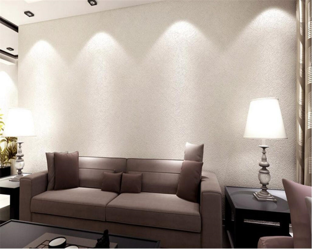 Beibehang Pure plain wallpaper Living room Modern minimalist 3D Rising TV background 3d Wallpaper roll wallpaper for walls 3d<br>