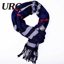 2016 most popular scarf plaid men scarf winter unisex soft warm scarves imitation cashmere winter scarves A3A17526(China)