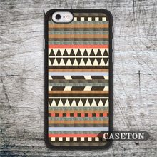Brown Tribal Arrow Aztec Case For iPhone 7 6 6s Plus 5 5s SE 5c 4 4s and For iPod 5 Vintage Retro Cover Wholesale
