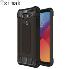 Buy Tsimak Cover LG G5 G6 Case Shockproof Silicone Rubber Armor Hard Back LG K10 K8 K7 K5 Phone Cases Coqua for $3.19 in AliExpress store