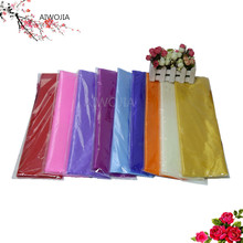 72CM * 10M transparent yarn gauze elements crystal ribbon party activities decorative items wedding decoration 6ZSH015-2(China)