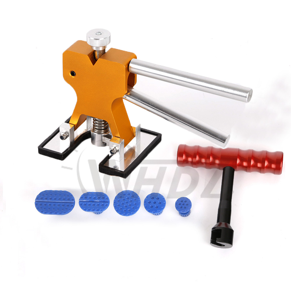 Hail Repair Dent Lifter T-Puller Glue Kits - PDR Tools Glue Puller Tab Hail Removal Paintless Car Dent Repair Tools<br>