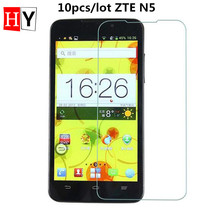9H 0.26mm Tempered Glass Film For ZTE Grand Memo N5 Anti Finger Print Front Transparent Screen Protector with Clean Tools 10pcs
