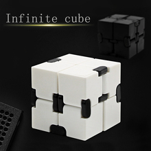 Fidget Magic Cube Infinity Toys Anti Stress Anxiety Juguete for Office Car Focus Controller Finger Cube Spinner Spiner for Adult
