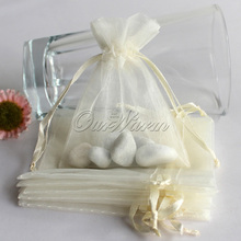 50pcs/lot Organza Gift Bag 7*9cm Wedding Favors and Gifts Wedding Candy Box for Guests Jewelry Pouch Bags Event Party Supplies