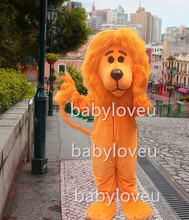 New wildcat lion king mascot costume party hot sale dog dragon color custom cat bird lion fancy dress business carnival costume