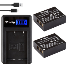 2Pcs Probty NP-W126 NP W126 Battery + LCD Charger for Fujifilm HS30EXR X-A1 X-A2 X-A3 X-E1 X-E2 X-E2S X-M1 X-Pro1 X-T1 X-T10