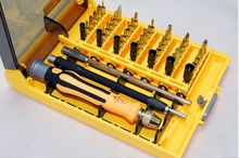 SunRed high quality newest version pentalobe 0.8 screwdriver set 45 in 1 for iphone mobile XBOX360 NO.9152 freeshipping