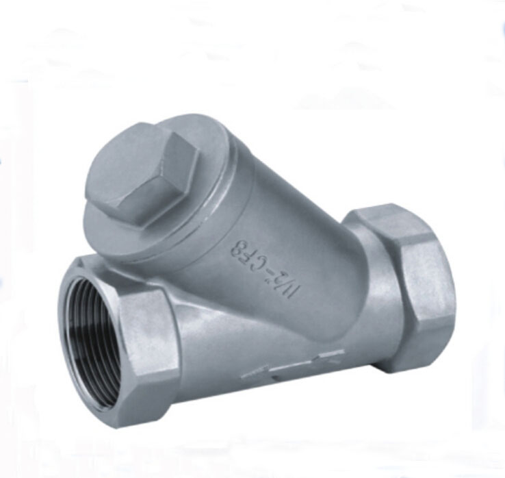 3/4 Y Spring vertical lift check valve<br>