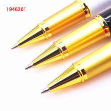 Luxury high quality 8007 China Golden The Great Wall Rollerball Pen New Collection of students to learn Chinese culture Gift pen(China)