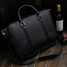 New High-quality Business Men Briefcase British Fashion Leisure Bag Handbag B