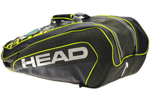 Head 6-9 Rackets Capacity Backpack Rackets Bags Tennis Bag With Shoe Bag Indoor&Outdoor Tennis Sports Training&Competition