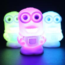 Peradix Light Toys wholesale Lovely toy Color Changing Night Light Lamp 2 Figure for Children