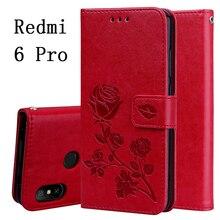 Xiaomi Redmi 6 Pro Case Redmi 6A Cover Soft Silicone Back Cover Redmi 6 Leather Flip Case Xiaomi Redmi 6A 6 A6 Phone Cases
