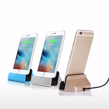 Chargeur Usb Portable Charger for IPhone 6 Plus 6s 6Plus 5 5s 5c Charging Dock Sync Stand Holder Cargador Carregador Accessories