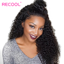 Recool Malaysian Curly Hair Weave Bundles 100% Virgin Human Hair Bundles Natural Color Can Be Dyed Hair Extensions 10-28 Inch