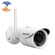 Outdoor Waterproof 1280*720P 1.0MP Bullet WiFi IP Camera Wireless Network Security ONVIF Waterproof Night Vision P2P IP Cam