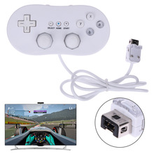 White Wired Classic Controller with L and R button gamepad for Wii Remote Console Video Game for Nintendo Wii classic(China)